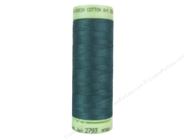 Mettler Silk Finish Cotton Thread 60 wt. 220 yd. #2793 Tidepool