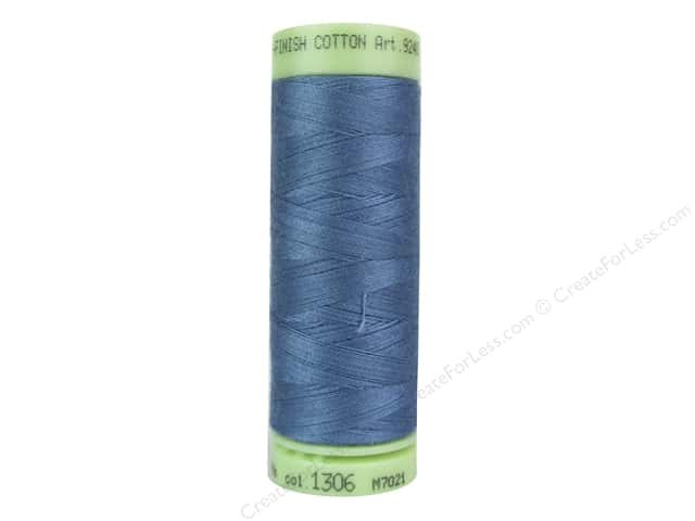 Mettler Silk Finish Cotton Thread 60 wt. 220 yd. #1306 Laguna