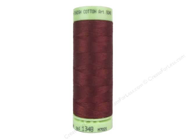 Mettler Silk Finish Cotton Thread 60 wt. 220 yd. #1348 Blue Elderberry