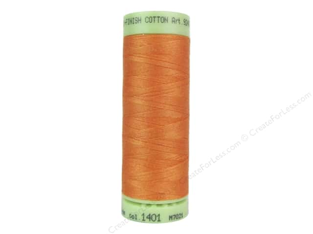 Mettler Silk Finish Cotton Thread 60 wt. 220 yd. #1401 Harvest
