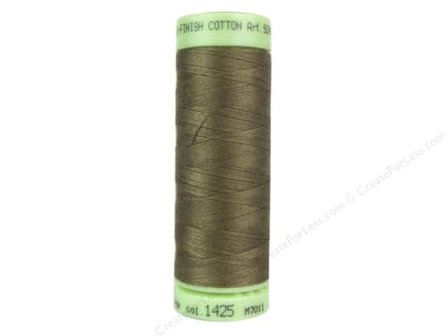 Mettler Silk Finish Cotton Thread 60 wt. 220 yd. #1425 Dormouse