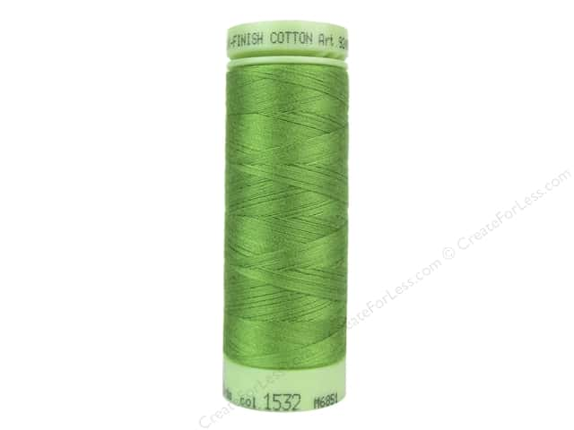 Mettler Silk Finish Cotton Thread 60 wt. 220 yd. #1532 Foliage