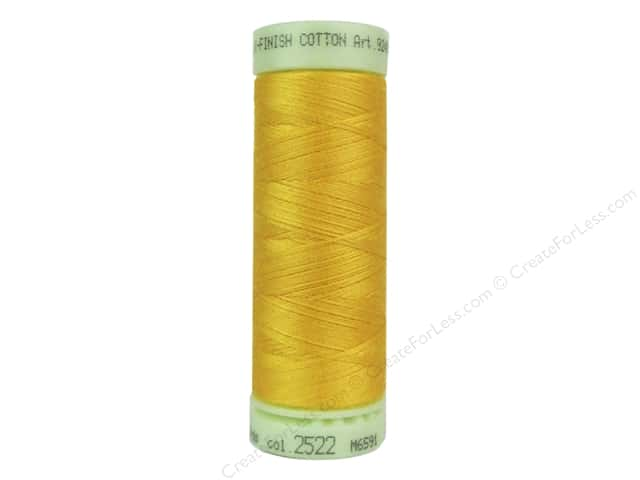 Mettler Silk Finish Cotton Thread 60 wt. 220 yd. #2522 Citrus