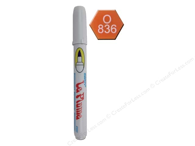 Uchida Le Plume Permanent Marker Brilliant Orange