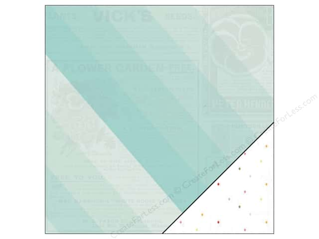 "Pink Paislee Citrus Bliss Collection Paper 12""x 12"" Bloom (25 sheets)"