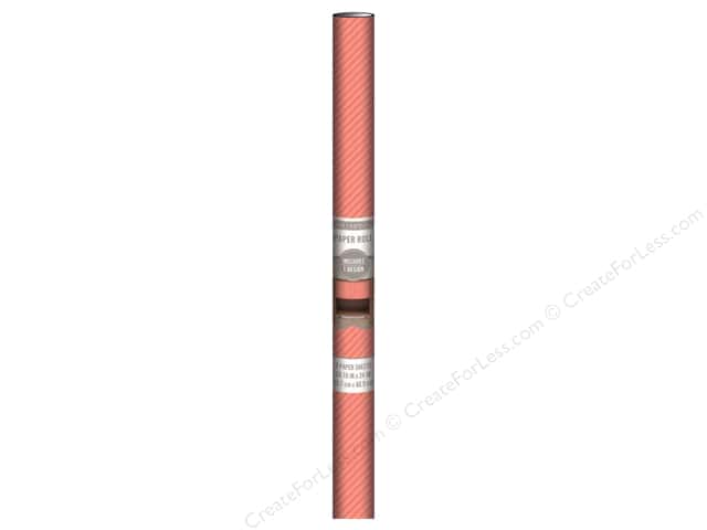 K & Company Paper Roll 18 x 24 in. Coral Stripe 3 pc.