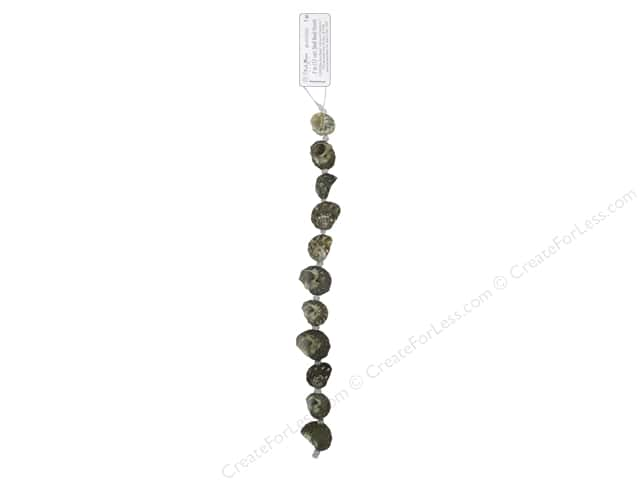 Blue Moon Beads Bead Strand 7 in. Natural Shell