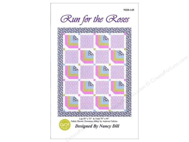 QuiltWoman.com Run For The Roses Pattern