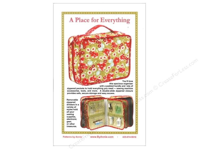 By Annie A Place For Everything Pattern