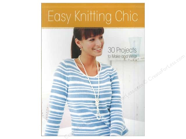 Krause Publications Easy Knitting Chic Book