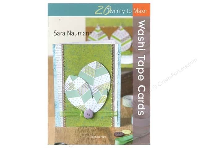 Search Press Twenty To Make Washi Tape Cards Book