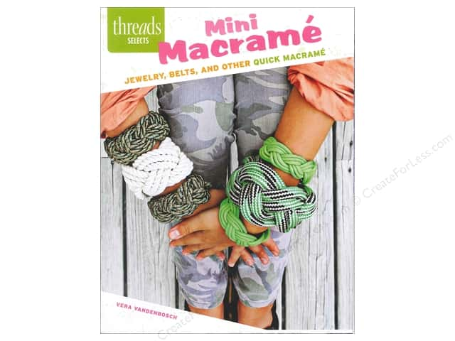Taunton Press Threads Selects Mini Macrame Book