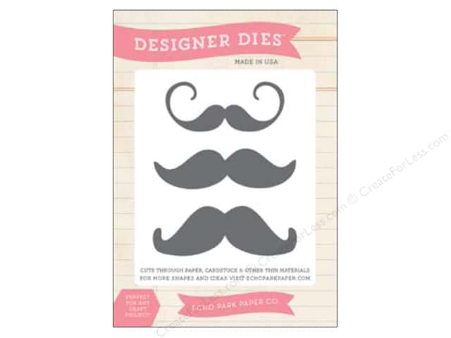 Echo Park Designer Dies Everyday Medium Moustache Set