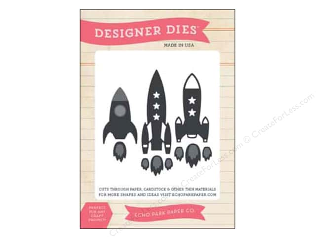 Echo Park Designer Dies Children Medium Rocket Ships