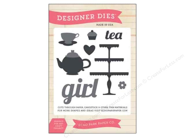 Echo Park Designer Dies Children Large Tea Time