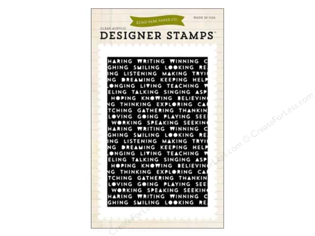 Echo Park Clear Stamp Set Everyday Words