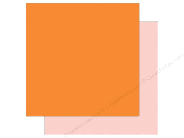 Echo Park 12 x 12 in. Paper Sunny Days Ahead Collection Orange/Pink (25 sheets)