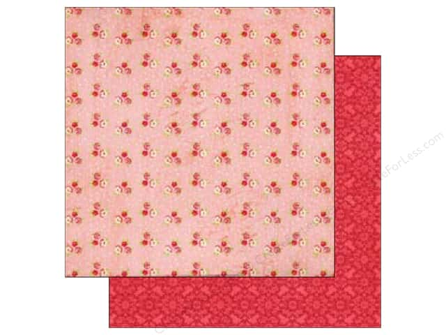 Echo Park 12 x 12 in. Paper Jack & Jill Girl Collection Mini Flower (25 sheets)