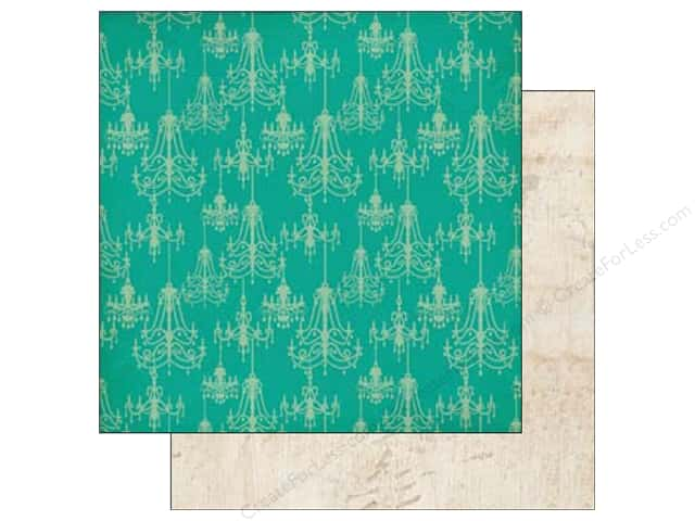 Echo Park 12 x 12 in. Paper Jack & Jill Girl Collection Chandeliers (25 sheets)