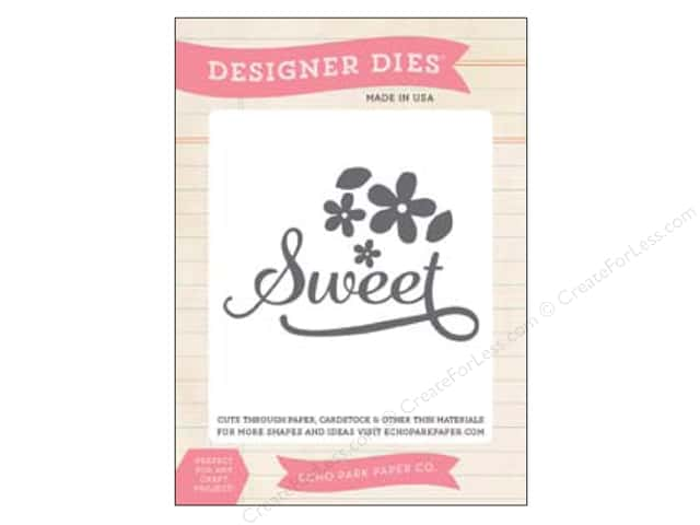 Echo Park Designer Dies Jack & Jill Girl Collection Sweet Flower