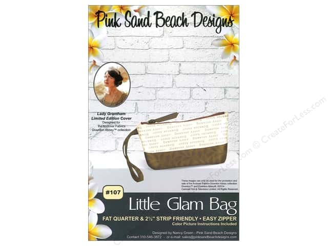 Pink Sand Beach Designs Downton Abbey Little Glam Bag Pattern