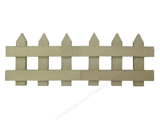 Paper Mache Folding Fence 18 in. by Craft Pedlars