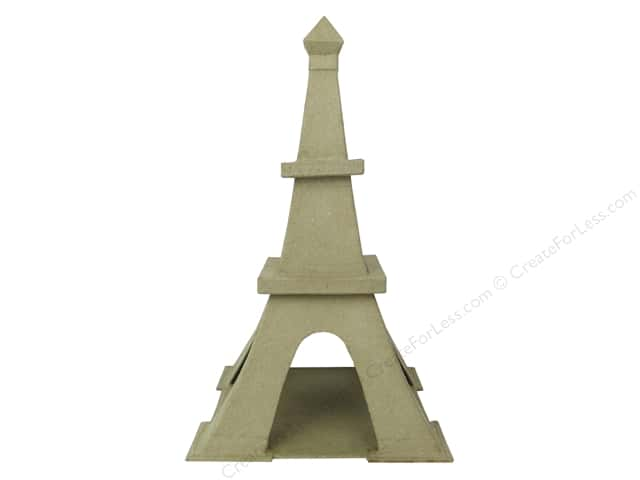 PA Paper Mache Eiffel Tower B 12 in.