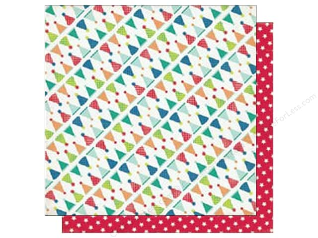 Echo Park 12 x 12 in. Paper Birthday Wishes Boy Collection Birthday Hats (25 sheets)