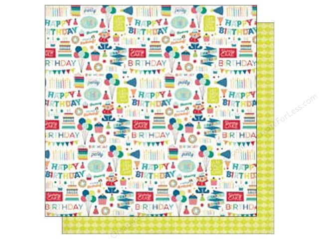 Echo Park 12 x 12 in. Paper Birthday Wishes Boy Collection Birthday Party (25 sheets)