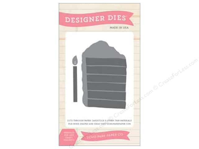 Echo Park Designer Dies Birthday Wishes Boy Cake Slice
