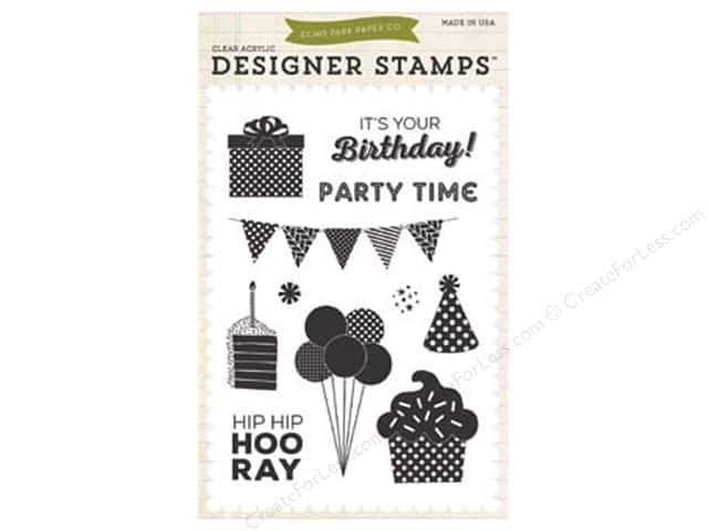 Echo Park Birthday Wishes Boy Collection Stamp Party