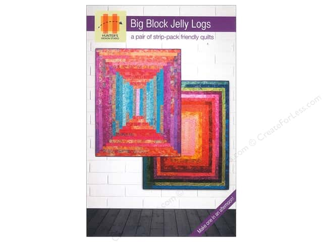 Hunter's Design Studio Big Block Jelly Logs Pattern