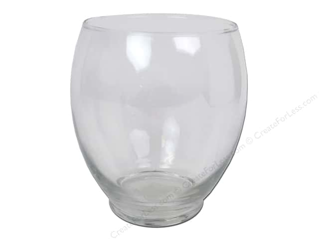 Crisa by Libbey Glass Hailey Vase 5 3/4 in. (4 pieces)
