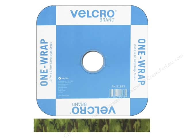 Velcro One Wrap Strap 3/4 in. x 45 ft. Camouflage (45 feet)