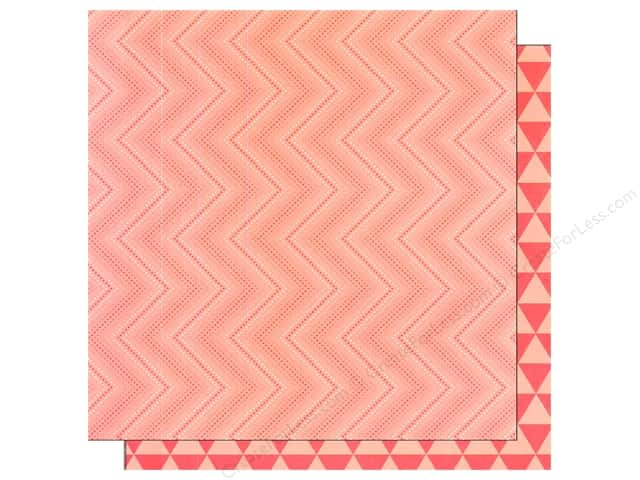 Pebbles 12 x 12 in. Paper Jen Hadfield Cottage Living Ombre Waves (25 sheets)