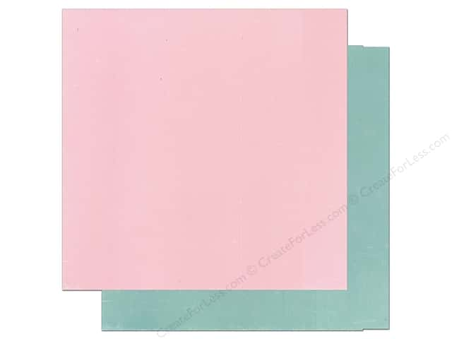 Echo Park 12 x 12 in. Paper Bundle of Joy Boy Collection Light Pink/Teal (25 sheets)
