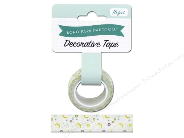 Echo Park Decorative Tape Bundle of Joy Boy Moon & Stars