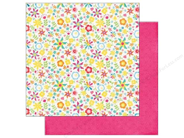 Echo Park 12 x 12 in. Paper I Love Sunshine Collection Pinwheel Afternoon (25 sheets)