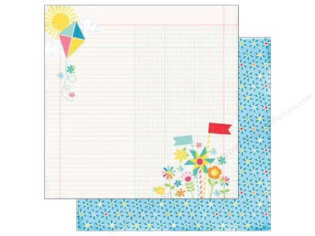 Echo Park 12 x 12 in. Paper I Love Sunshine Collection Perfect Moment (25 sheets)