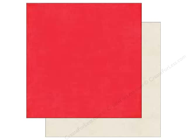 Echo Park 12 x 12 in. Paper I Love Sunshine Collection Red/Cream (25 sheets)
