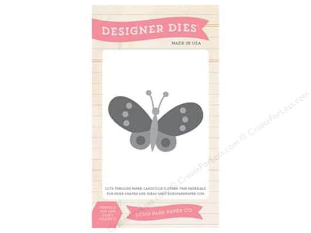Echo Park Designer Dies I Love Sunshine Collection Butterfly Set 2
