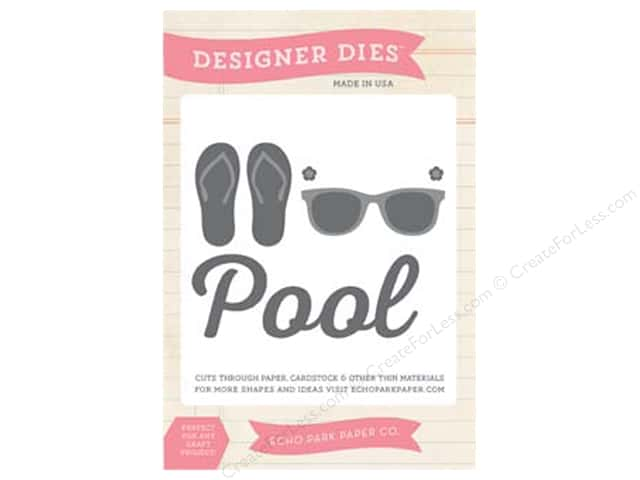 Echo Park I Love Sunshine Collection Die At The Pool