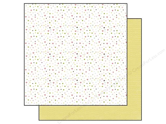 Echo Park 12 x 12 in. Paper Bundle of Joy Girl Collection Confetti (25 sheets)