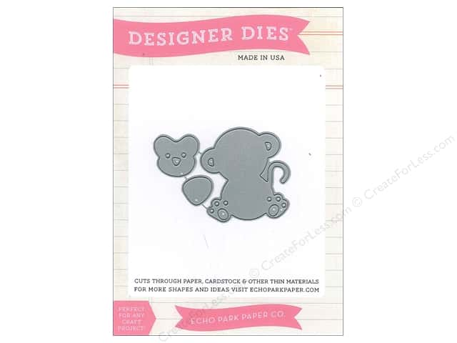 Echo Park Bundle of Joy Girl Collection Die Set Monkey