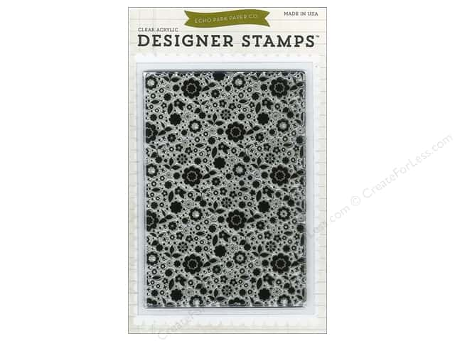 Echo Park Designer Stamp Bundle of Joy Girl Collection Floral