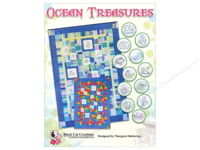 Black Cat Creations Ocean Treasures Pattern