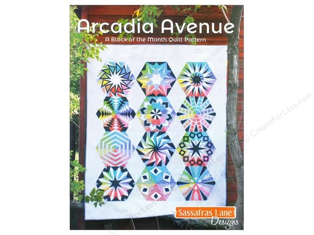 Sassafras Lane Designs Books Arcadia Avenue Book