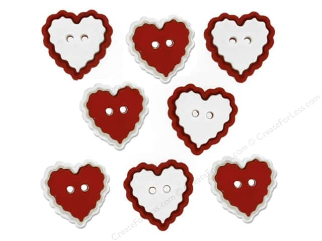 Jesse James Dress It Up Embellishments Valentine Heart Of Mine