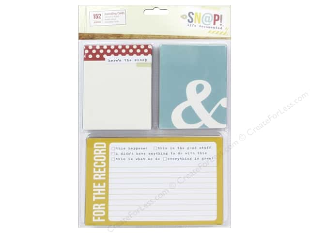 Simple Stories SN@P! Cards SN@P! Life Documented Journaling