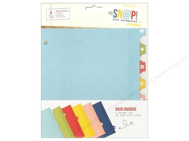 Simple Stories Collection Life Documented Snap Divider Basic